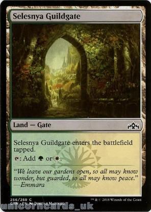 Picture of Selesnya Guildgate Common Mint MTG Card :: Throne of Eldraine Brawl Decks ::
