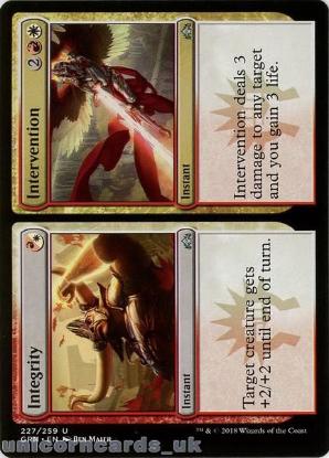 Picture of Integrity // Intervention Uncommon Mint MTG Card :: Throne of Eldraine Brawl Decks ::