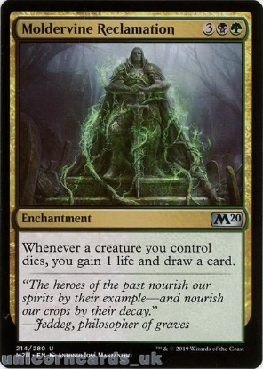 Picture of Moldervine Reclamation Uncommon Mint MTG Card :: Throne of Eldraine Brawl Decks ::