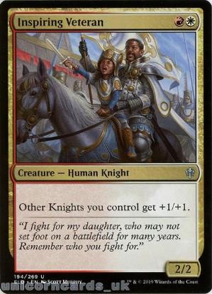 Picture of Inspiring Veteran Uncommon Mint MTG Card :: Throne of Eldraine Brawl Decks ::