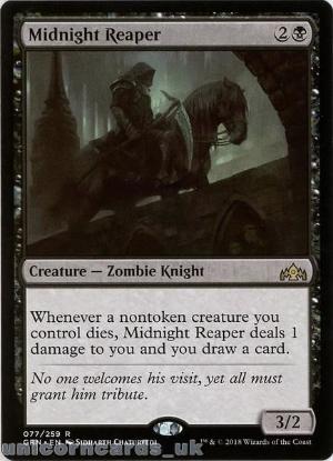 Picture of Midnight Reaper Rare Mint MTG Card :: Throne of Eldraine Brawl Decks ::