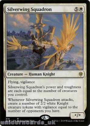 Picture of Silverwing Squadron Rare Mint MTG Card :: Throne of Eldraine Brawl Decks ::