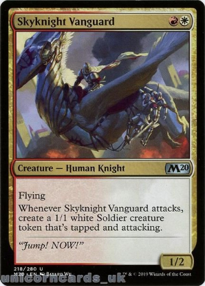 Picture of Skyknight Vanguard Uncommon Mint MTG Card :: Throne of Eldraine Brawl Decks ::
