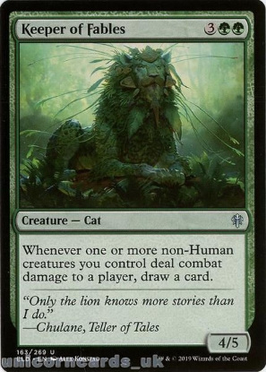 Picture of Keeper of Fables Uncommon Mint MTG Card :: Throne of Eldraine Brawl Decks ::