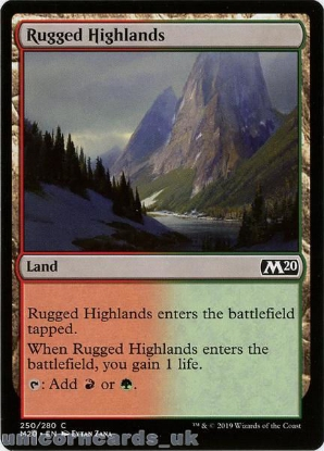 Picture of Rugged Highlands Common Mint MTG Card :: Throne of Eldraine Brawl Decks ::