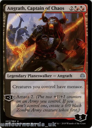 Picture of Angrath, Captain of Chaos Uncommon Mint MTG Card :: Throne of Eldraine Brawl Decks ::