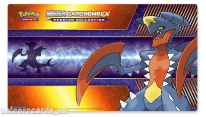 Picture of Mega Garchomp Play Mat :: Official Pokemon Playmat :: Brand New :: Full Size