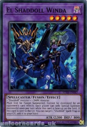 Picture of SDSH-EN047 El Shaddoll Winda (alternate art) Super Rare Mint YuGiOh Card