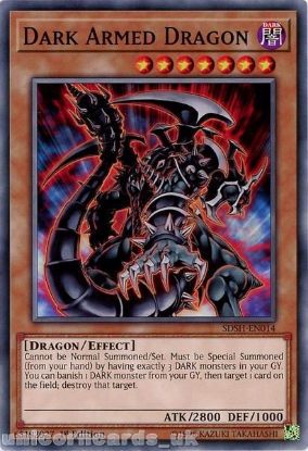 Picture of SDSH-EN014 Dark Armed Dragon Common Mint YuGiOh Card