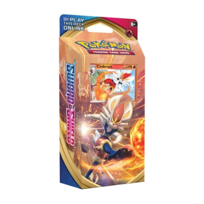 Picture of Pokemon TCG: Sword & Shield Cinderace Theme Deck :: Brand New And Sealed Box! ::