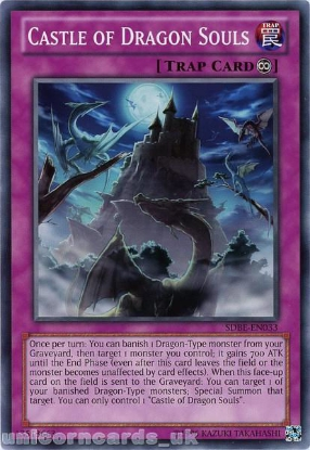 Picture of SDBE-EN033 Castle of Dragon Souls UNL Edition Mint YuGiOh Card