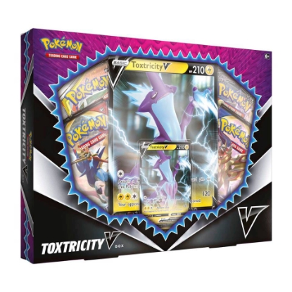 Picture of Pokemon TCG: Toxtricity V Box :: Brand New And Sealed!