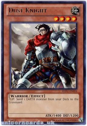 Picture of REDU-EN034 Dust Knight Rare UNL Edition Mint YuGiOh Card