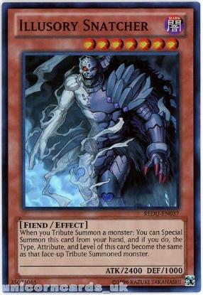 Picture of REDU-EN037 Illusory Snatcher Super Rare UNL Edition Mint YuGiOh Card