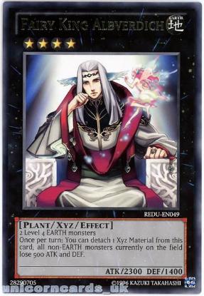 Picture of REDU-EN049 Fairy King Albverdich Rare UNL Edition Mint YuGiOh Card