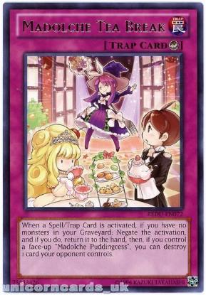 Picture of REDU-EN072 Madolche Tea Break Rare UNL Edition Mint YuGiOh Card