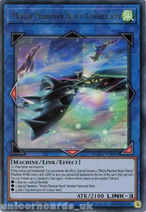Picture of DUOV-EN017 Mecha Phantom Beast Auroradon Ultra Rare 1st Edition Mint YuGiOh Card