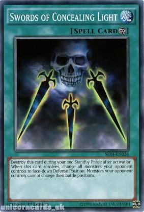 Picture of SR04-EN026 Swords of Concealing Light UNL Edition Mint YuGiOh Card