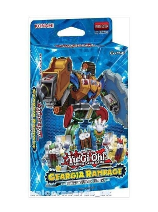 Picture of YuGiOh! Structure Deck: Geargia Rampage  :: 42 Cards - No Box