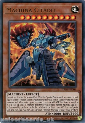 Picture of SR10-EN001 Machina Citadel Ultra Rare 1st Edition Mint YuGiOh Card