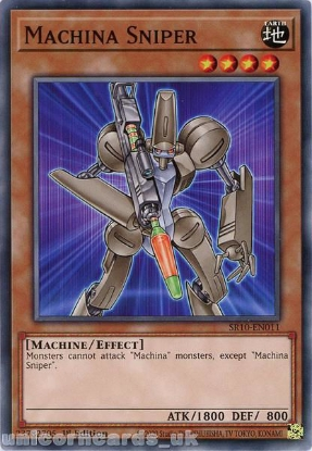 Picture of SR10-EN011 Machina Sniper Common 1st Edition Mint YuGiOh Card