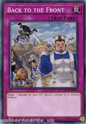 Picture of SR10-EN036 Back to the Front Common 1st Edition Mint YuGiOh Card