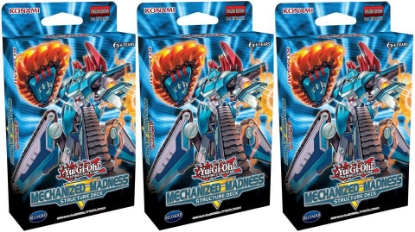 Picture of YuGiOh! Structure Deck: Mechanized Madness 1st Edition  x3 ::  Brand New and Sealed Boxes