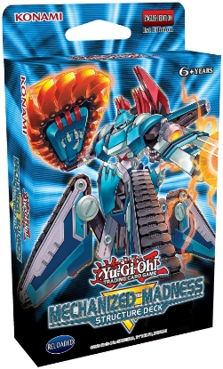 Picture of YuGiOh! Structure Deck: Mechanized Madness 1st Edition  ::  Brand New and Sealed Box