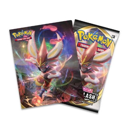 Picture of Pokemon Sword & Shield - Rebel Clash Mini Portfolio & Booster Pack