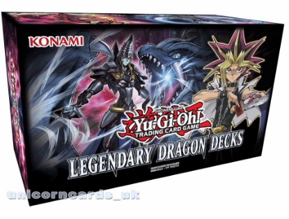 Picture of YuGiOh! Legendary Dragon Decks 1st Edition: 3 Complete And Powerful Dragon Decks!