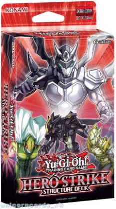 Picture of YuGiOh! Structure Deck: HERO Strike 1st Edition ::  Cards Only - No Box