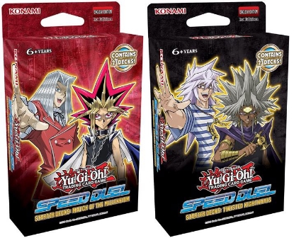 Picture of YuGiOh! Speed Duel Starter Decks: Match of the Millennium & Twisted Nightmares ::
