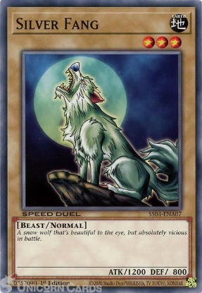 Picture of SS04-ENA07 Silver Fang Common 1st Edition Mint YuGiOh Card