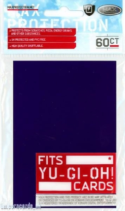 Picture of Max Protection Alpha Sleeves For YuGiOh! Cards ::  Purple :: Pkt 60