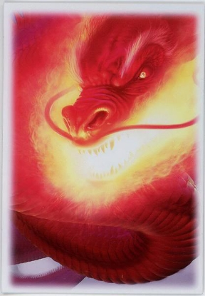 Picture of Max Protection Sleeves :: Inferno :: MTG/Pokemon Size :: Pack of 50 ::
