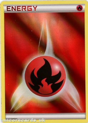 Picture of Fire Energy BD2 Holofoil Mint Pokemon Card
