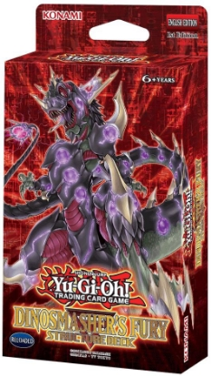 Picture of YuGiOh! Dinosmasher's Fury Structure Deck UNL Edtion ::