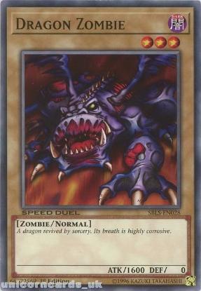 Picture of SBLS-EN028 Dragon Zombie 1st Edition Mint YuGiOh Card