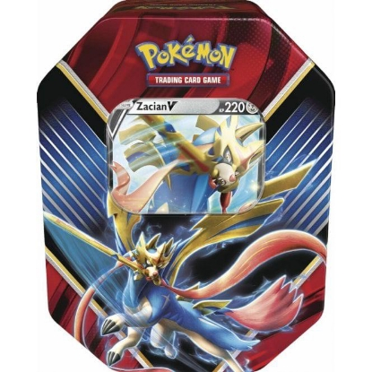 Picture of Pokemon TCG: Legends of Galar Tin :: Zacian V ::
