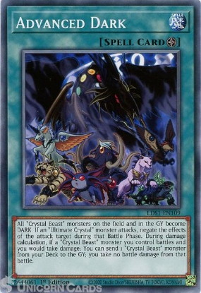 Picture of LDS1-EN109 Advanced Dark Common 1st Edition Mint YuGiOh Card