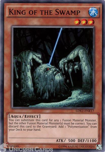 Picture of LDK2-ENK17 King of the Swamp UNL edition Mint YuGiOh Card
