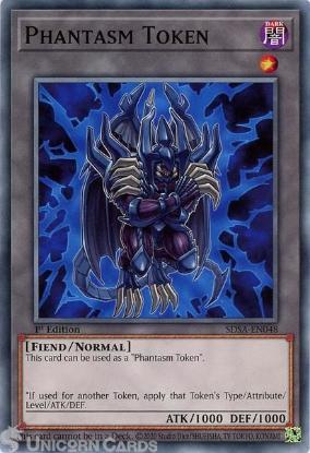 Picture of SDSA-EN048 Phantasm Token Common 1st Edition Mint YuGiOh Card