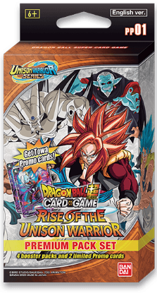 Picture of DragonBall Super Card Game :: Rise of the Unison Warrior Premium Pack Set 01 [PP01] ::