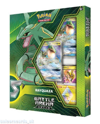 Picture of Pokemon TCG: Battle Arena Deck - Rayquaza GX :: Brand New And Sealed! ::