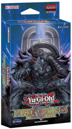 Picture of YuGiOh! Emperor of Darkness Structure Deck  :: 1st Edition :: 41 Cards + Mat + Guide - No Box :