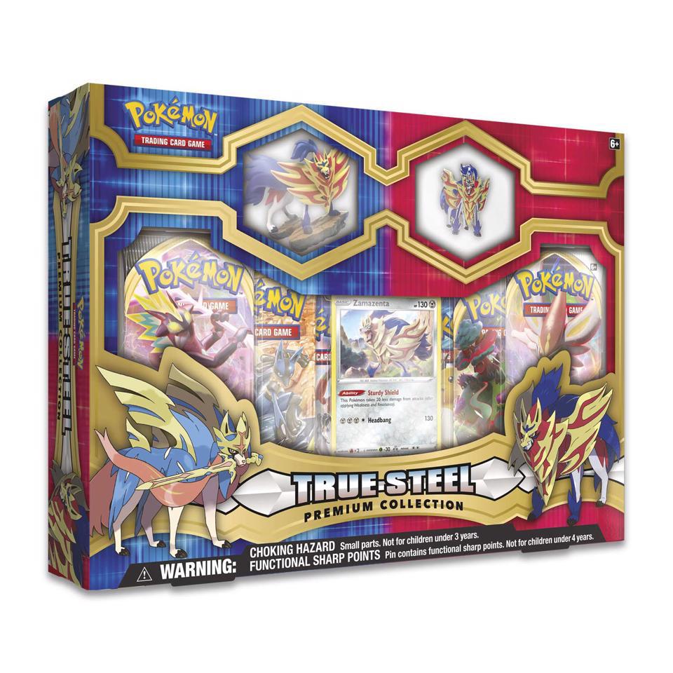 Picture of Pokemon TCG: True Steel Premium Collection :: Zamazenta ::