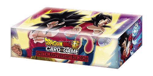 Picture of DragonBall Super Card Game - Special Anniversary Box 2020 :: SS4 Goku & SS4 Vegeta Design ::