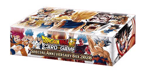 Picture of DragonBall Super Card Game - Special Anniversary Box 2020 :: Son Goku Saiyan Forms Design ::