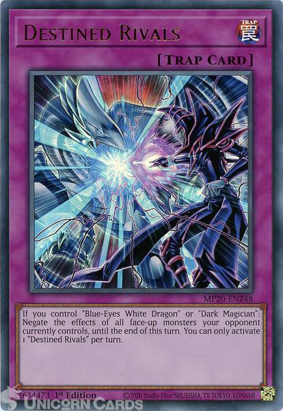 Picture of MP20-EN248 Destined Rivals Ultra Rare 1st Edition Mint YuGiOh Card