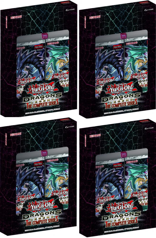 Picture of YuGiOh! Dragons of Legend: The Complete Series 1st Edition Box x4 ::